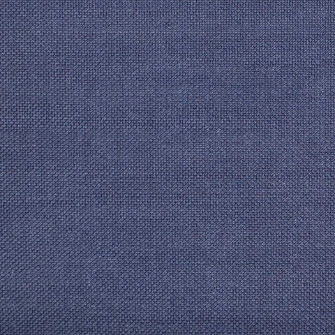 Navy Blue Herringbone with Light Blue Check Super 120's Wool & Cashmere Jacketing