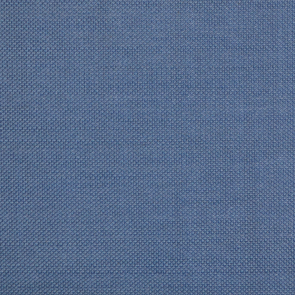 French Blue Wool & Kid Mohair Suiting