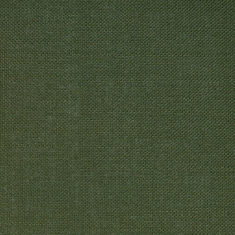Moss Green Wool & Kid Mohair Suiting