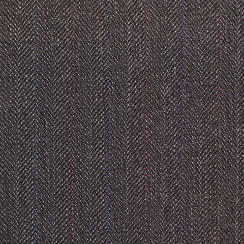 Dark Grey with Subtle Herringbone Twist Suiting