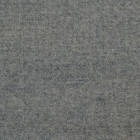 Light Grey Super 140's Wool & Cashmere Flannel Suiting