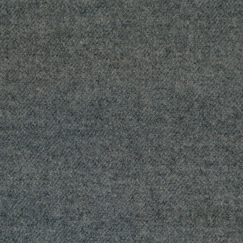 Medium Grey Super 140's Wool & Cashmere Flannel Suiting