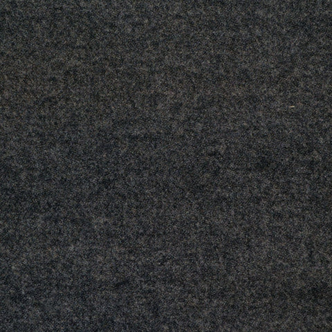 Dark Grey Super 140's Wool & Cashmere Flannel Suiting