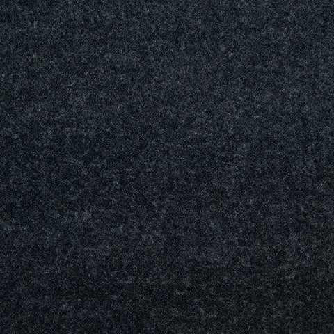 Charcoal Grey Super 140's Wool & Cashmere Flannel Suiting