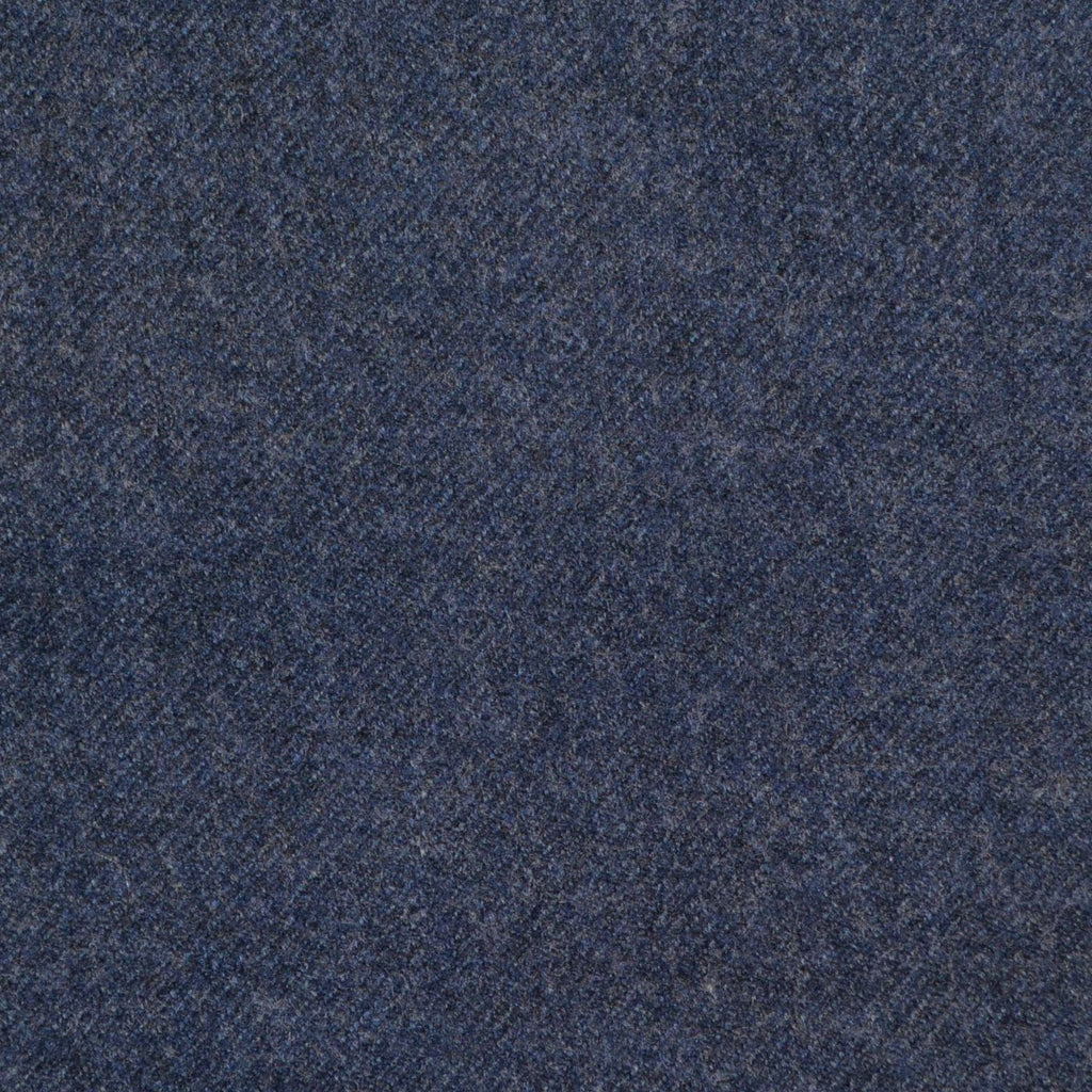 Air Force Blue Super 140's Wool & Cashmere Flannel Suiting