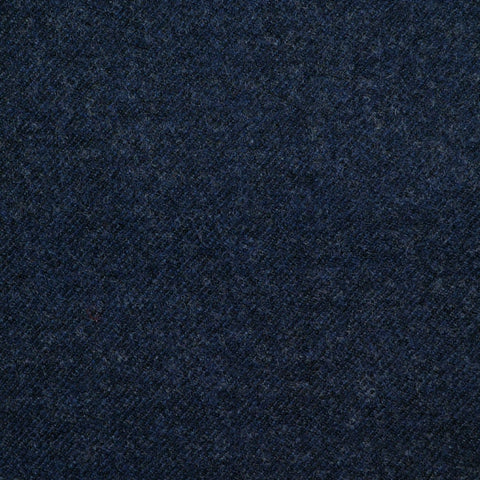 Medium Blue Super 140's Wool & Cashmere Flannel Suiting