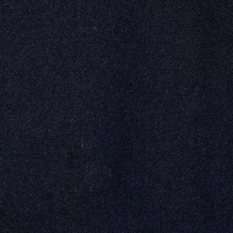 Navy Blue Super 140's Wool & Cashmere Flannel Suiting