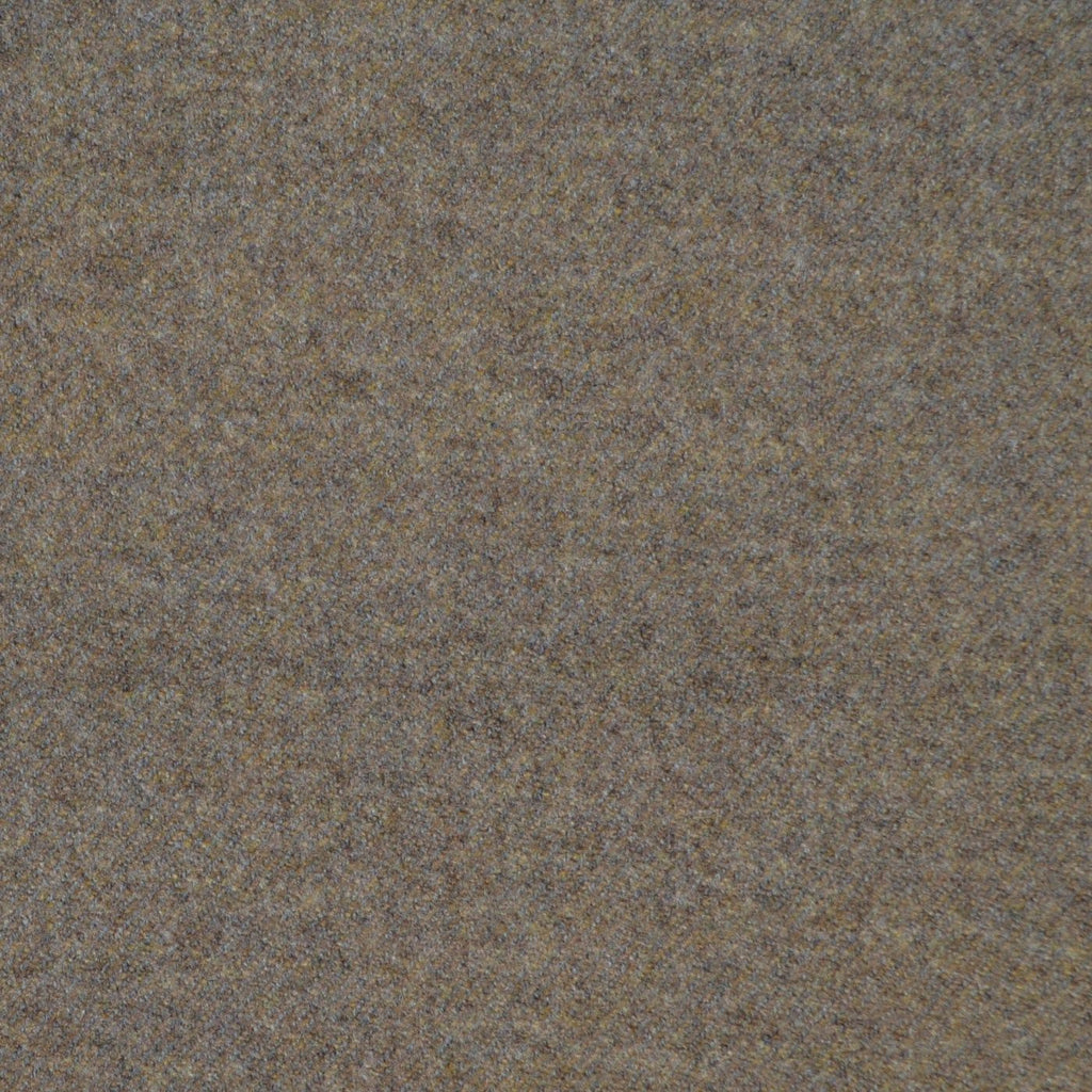 Beige Super 140's Wool & Cashmere Flannel Suiting