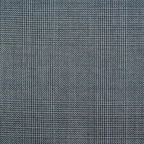 Grey Prince of Wales Check Super 150's All Wool Suiting
