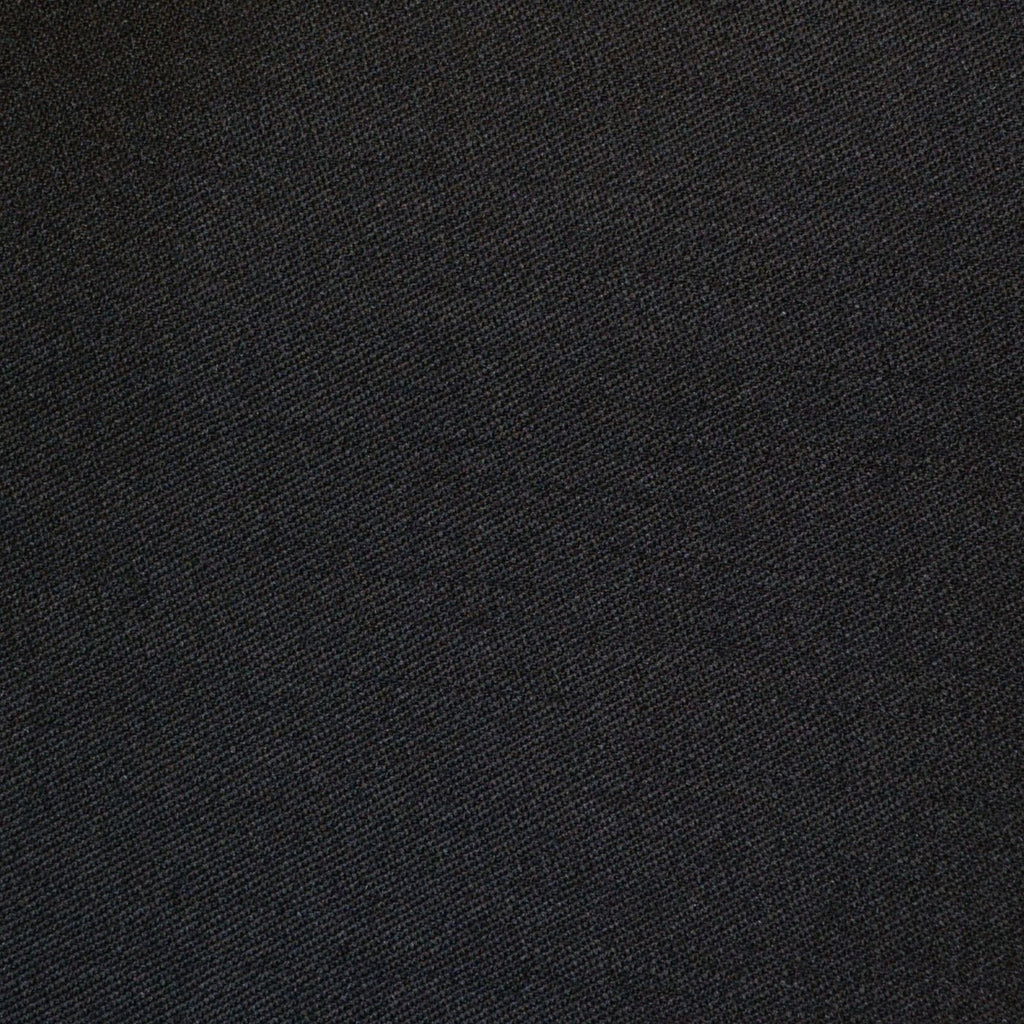 Black Venetian Super 150's All Wool Suiting