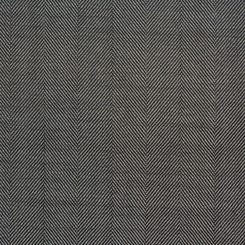 Grey Wide Herringbone Super 150's All Wool Suiting