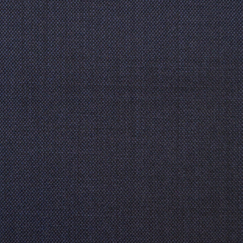 Navy Blue Sharkskin Super 150's All Wool Suiting