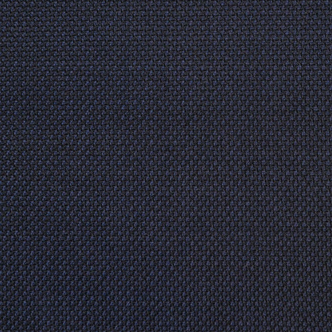 Navy Birdesye Super 150's All Wool Suiting