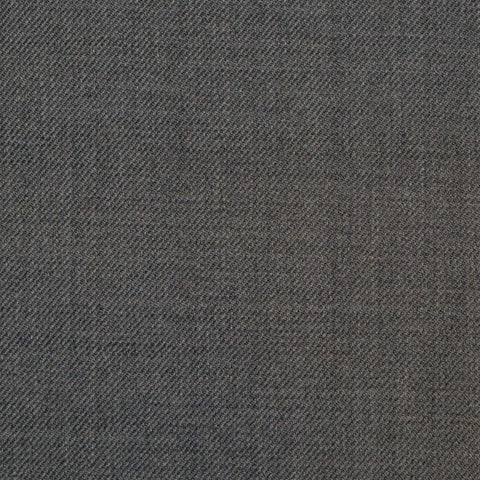 Medium Grey Twill Super 150's All Wool Suiting