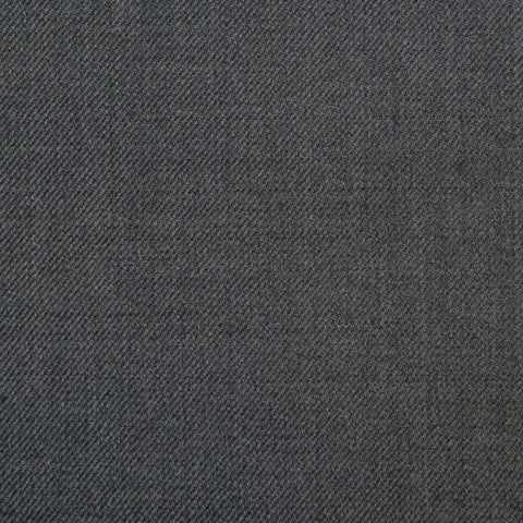 Charcoal Grey Twill  Super 150's All Wool Suiting