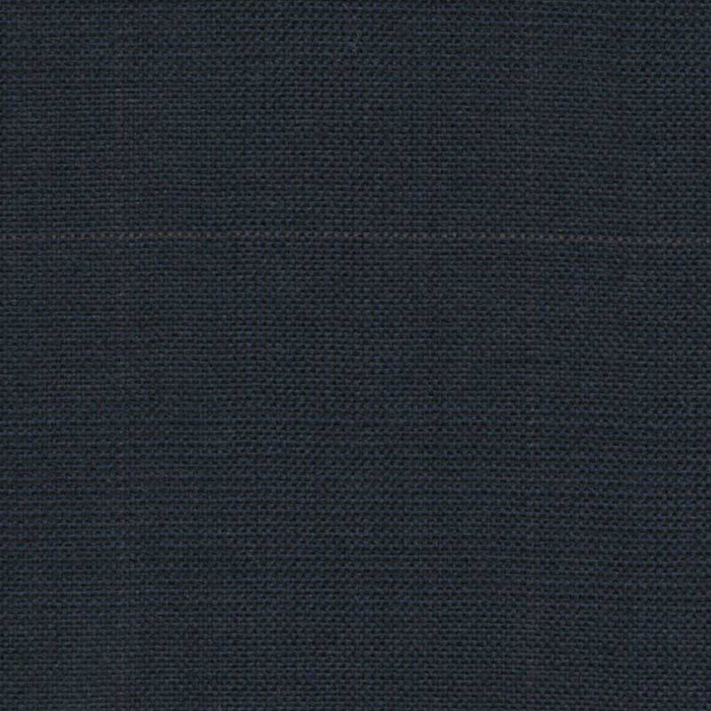 Navy Blue Glen Check Super 140's All Wool Suiting By Holland & Sherry