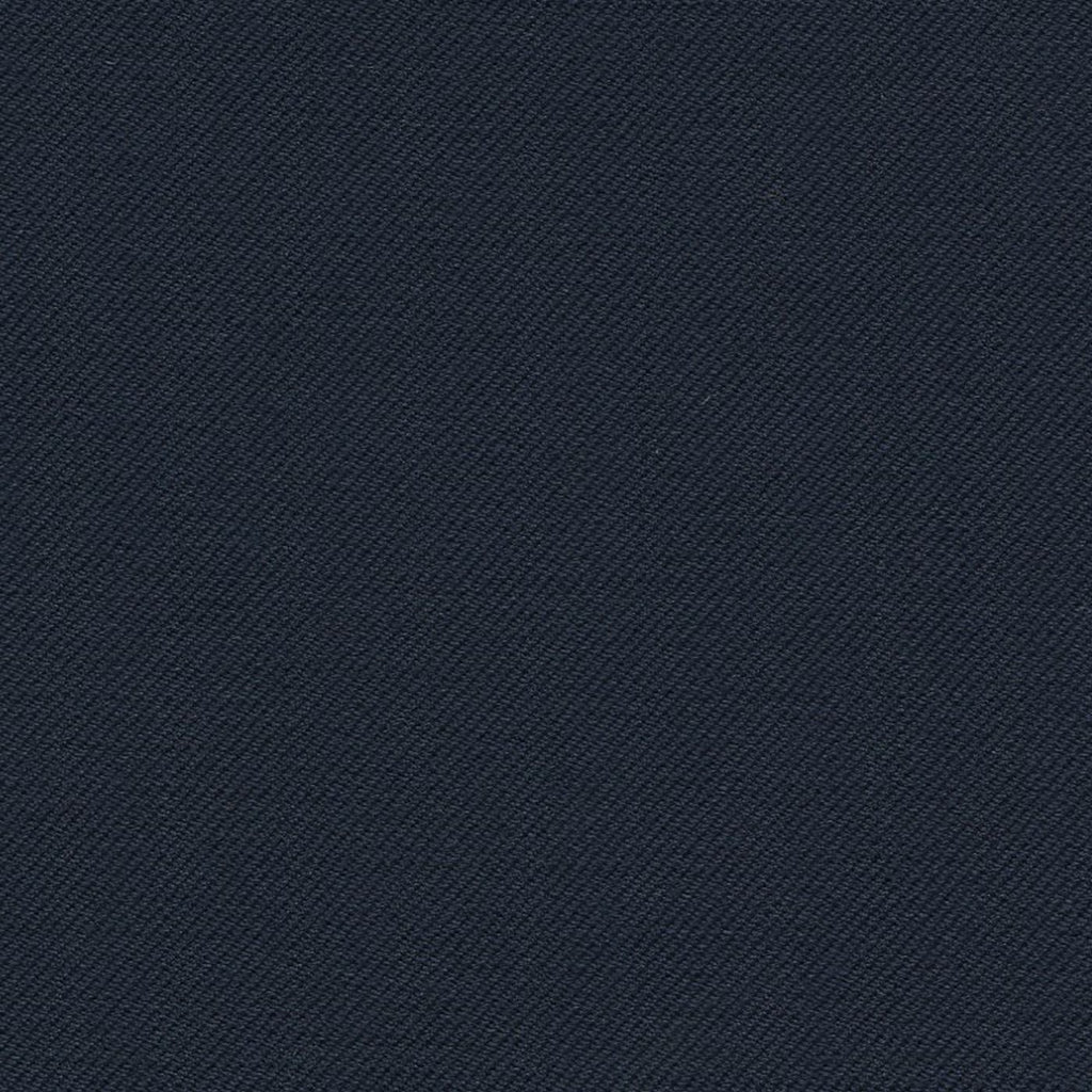 Dark Navy Blue Super 140's All Wool Suiting By Holland & Sherry
