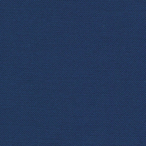French Blue Super 140's All Wool Suiting By Holland & Sherry