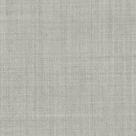 Light Grey Super 140's All Wool Suiting By Holland & Sherry
