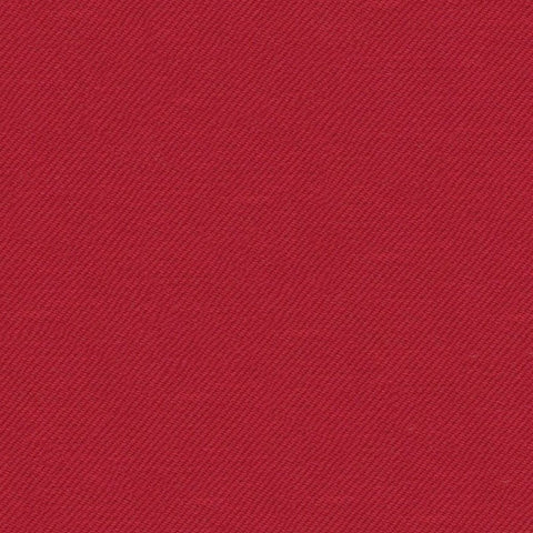 Bright Red Super 140's All Wool Suiting By Holland & Sherry