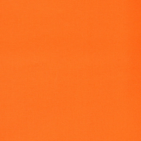Orange Plain Weave Craft Poplin Cotton - Ideal for COVID19 Masks and Scrubs