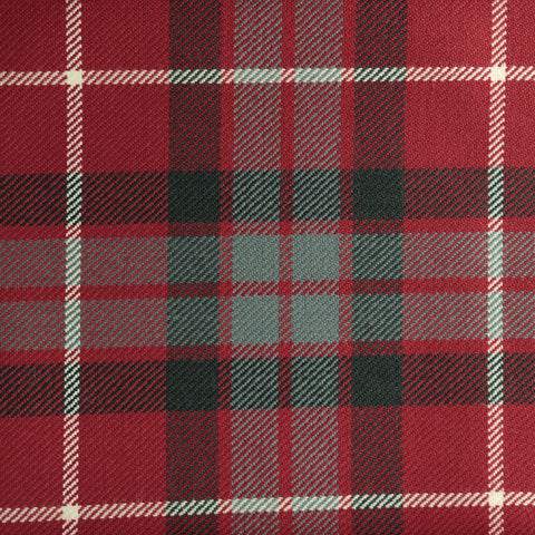 Fraser Red Muted Tartan