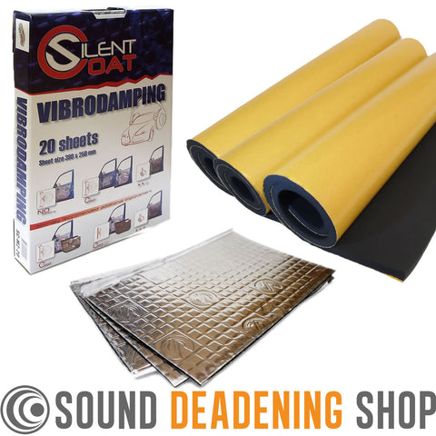 Hatchback Car Boot Sound Proofing Bundle