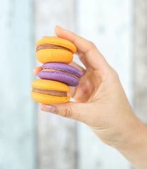 Vegan plant based macaroons at Nagev in Adelaide