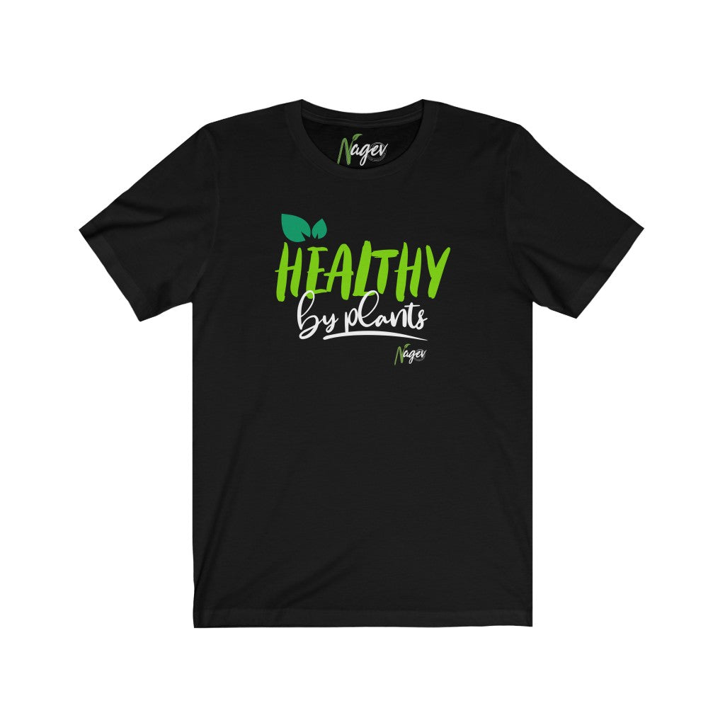 healthy by plants Unisex Jersey Short Sleeve Tee