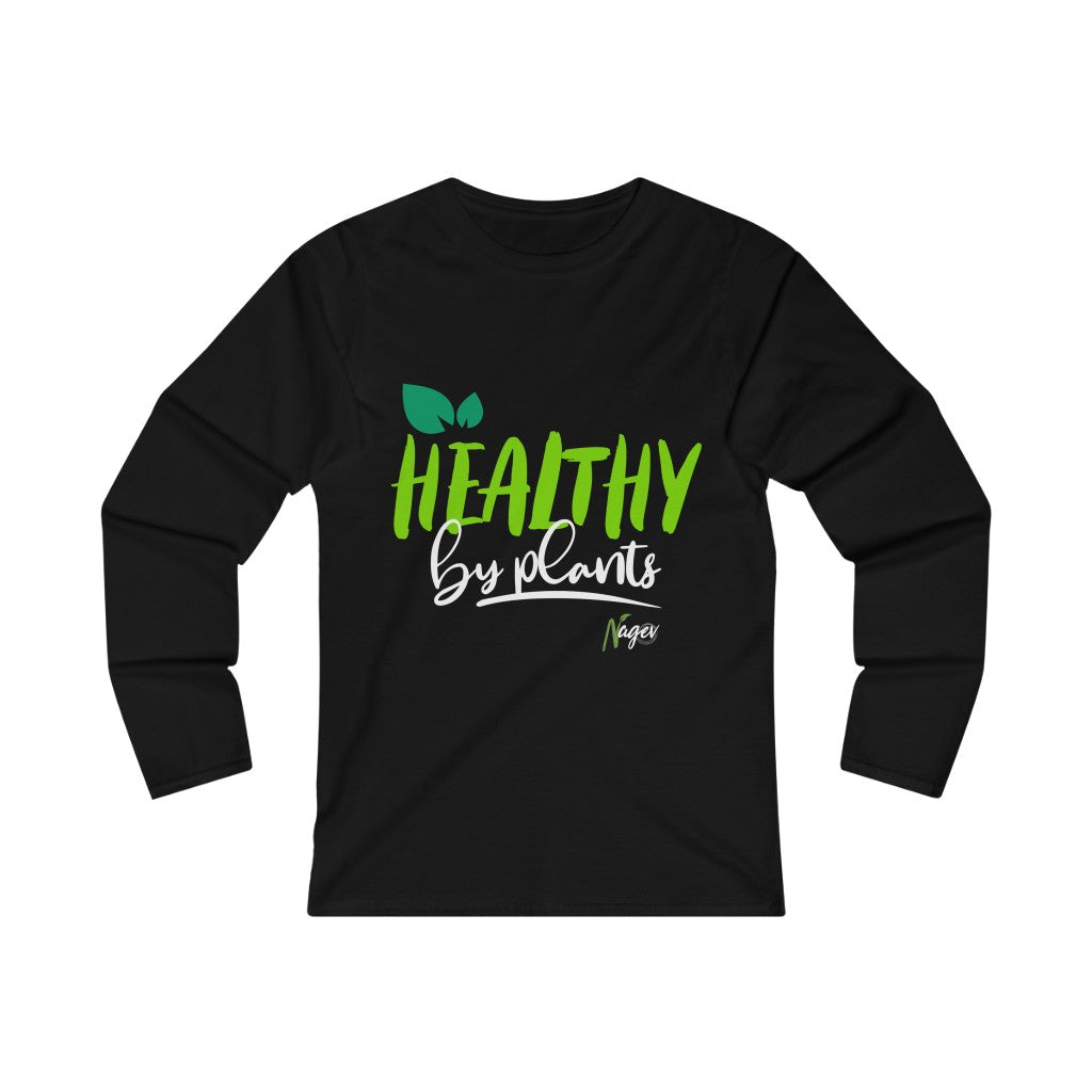 Women's Fitted Long Sleeve Tee