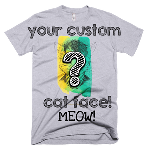 Custom Kitty Pop Original Art and Apparel