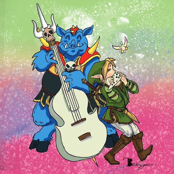 Link Friends Prints