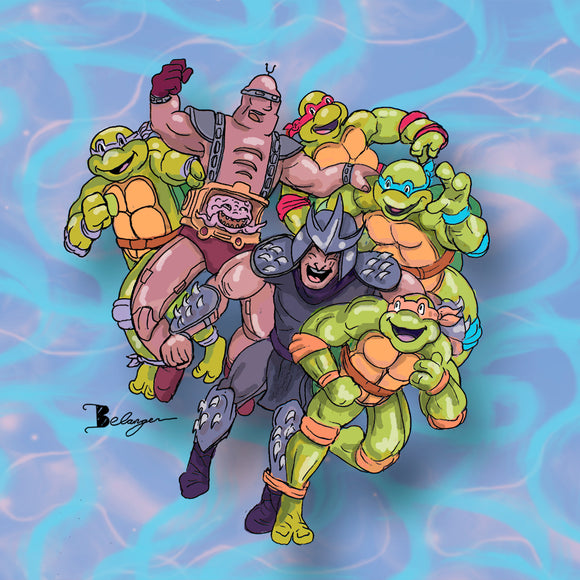 Turtle Friends Prints