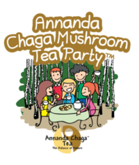 Annanda Chaga Mushroom Tea Party