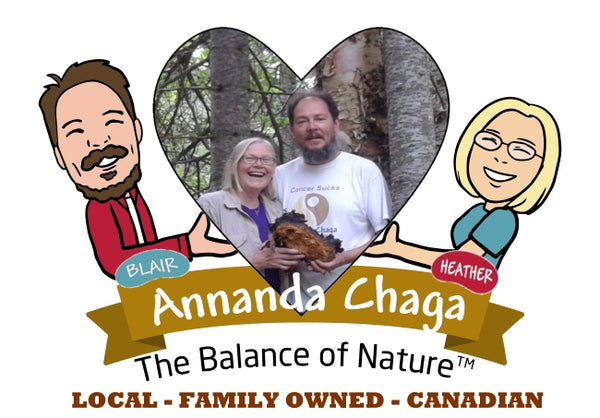 Heather and Blair Annanda chaga