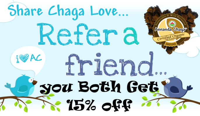 refer a friend and save 15% off