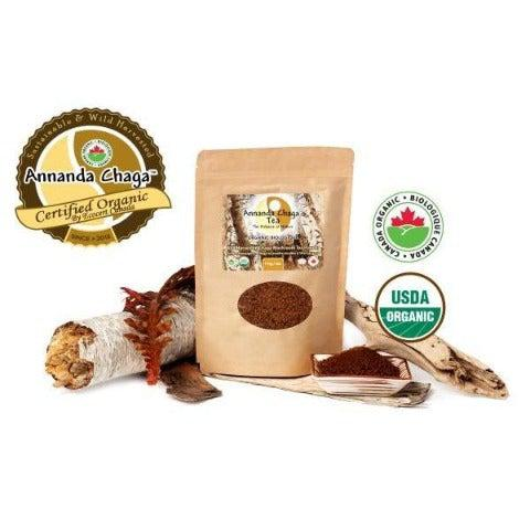 Canadian Chaga Mushroom Powder-Annanda Chaga Mushrooms