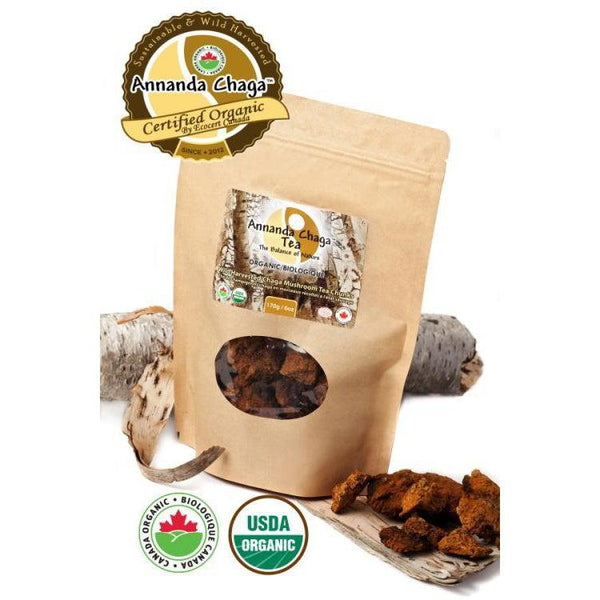 Canadian Chaga Mushroom Chunks-Annanda Chaga Mushrooms
