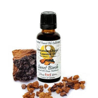 Sweet Birch and Chaga Mushroom Essential Oil - Annanda Organics-Annanda Chaga Mushrooms