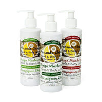 Chaga Hand and Body Lotion-Annanda Chaga Mushrooms