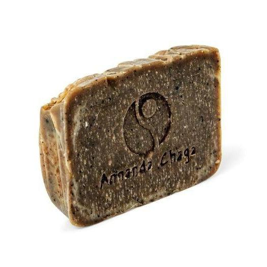 Annanda Chaga Mushroom Exfoliating Soap-Annanda Chaga Mushrooms