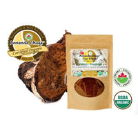 Canadian Chaga Mushroom Fine Powder-Annanda Chaga Mushrooms