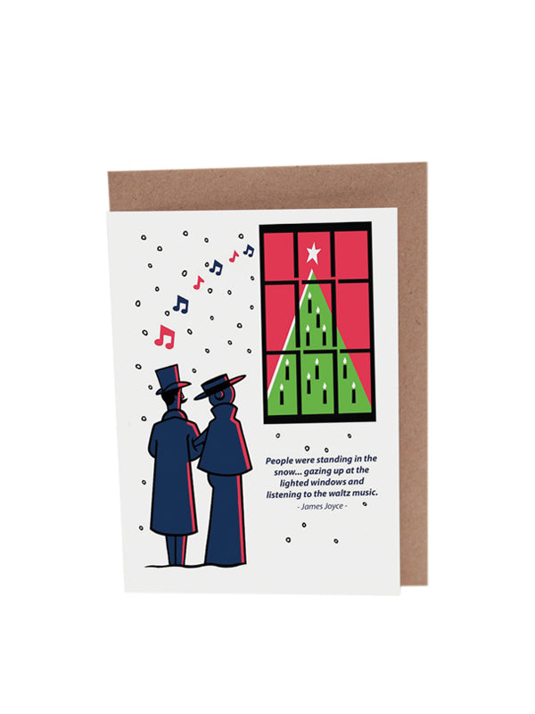 James Joyce Christmas Cards by At it Again!