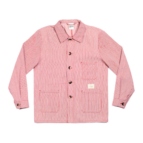 Red Hickory Stripe Jacket