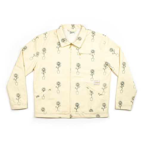 Cream Sunflower Jacket