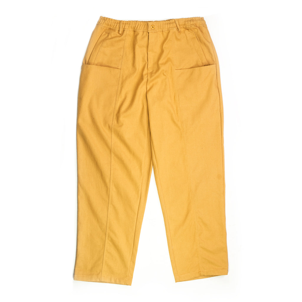 Sand Canvas Utility Trousers