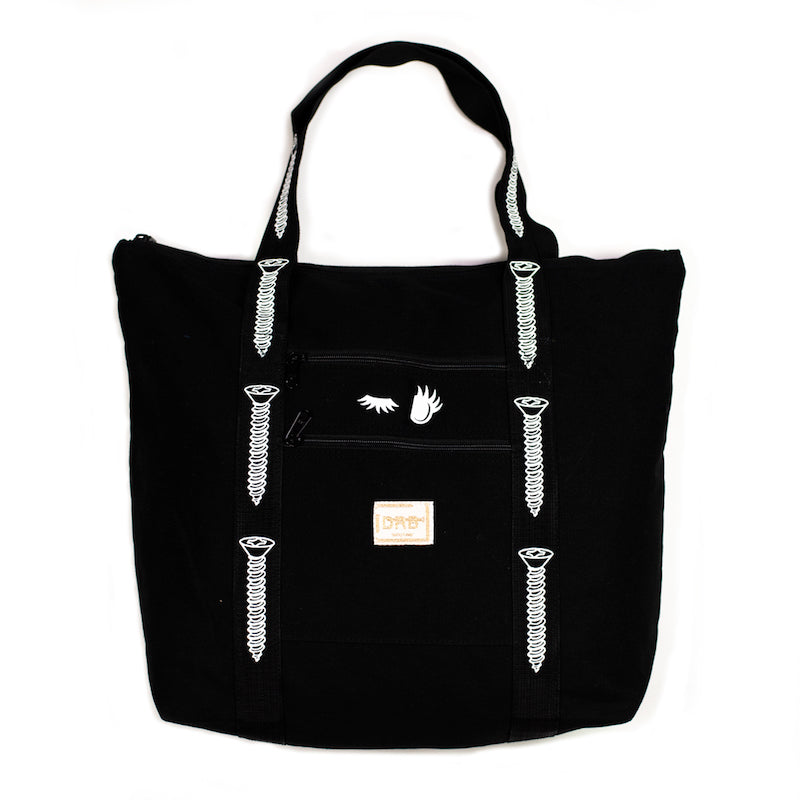 Black Screw Beach Bag