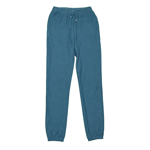 Teal Reverse Loopback Tracksuit Bottoms