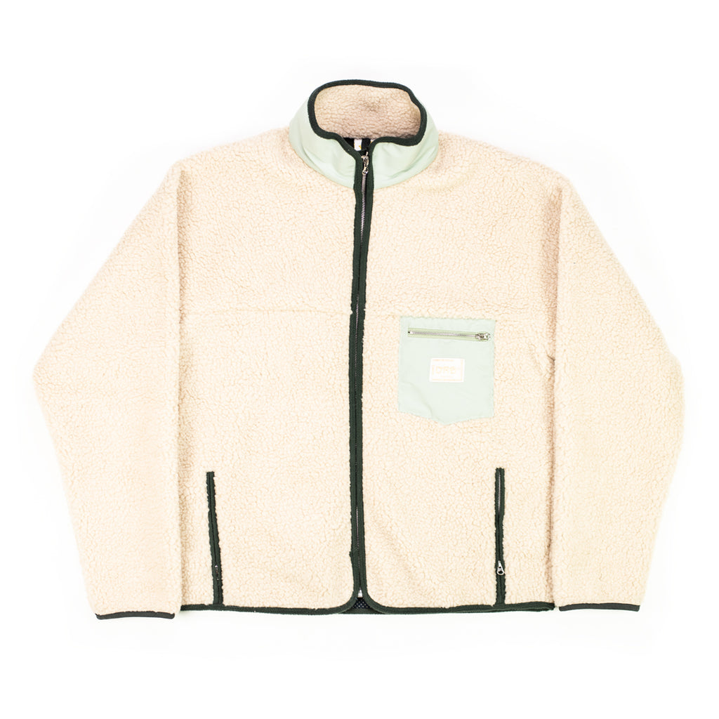 Mint Sherpa Fleece