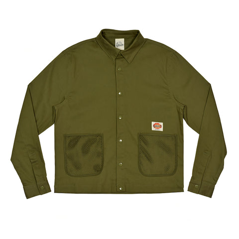 Khaki Net Pocket Work Jacket